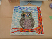 Owl  Ready for Grout